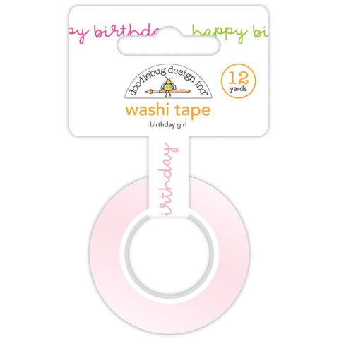 DOODLEBUG DESIGN: Washi Tape 15mm | Birthday Girl