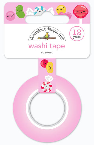 DOODLEBUG DESIGN: Washi Tape 15mm (So Sweet)