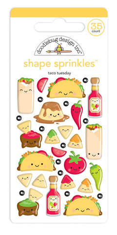 DOODLEBUG DESIGN: Shape Sprinkles (Taco-bout Fun)