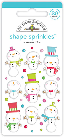 DOODLEBUG DESIGN: Shape Sprinkles | Snow Much Fun