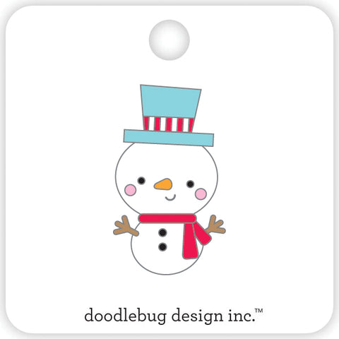 DOODLEBUG DESIGN: Collectible Enamel Pin (Jack)