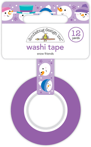 DOODLEBUG DESIGN: Washi Tape 15mm | Snow Friends