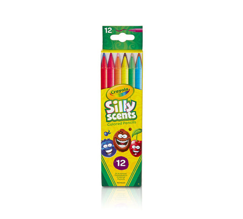 CRAYOLA: Colored Pencils | Twistable Silly Scents | Sweet (12 Count)