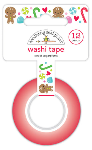 DOODLEBUG DESIGN: Washi Tape 15mm | Sweet Sugarplums