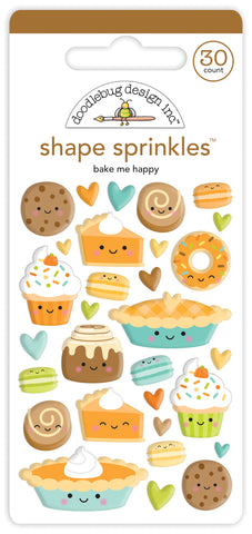 DOODLEBUG DESIGN: Shape Sprinkles | Bake Me Happy