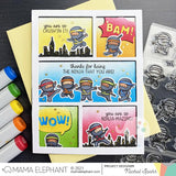 MAMA ELEPHANT: Comic Cover Basic | Creative Cuts