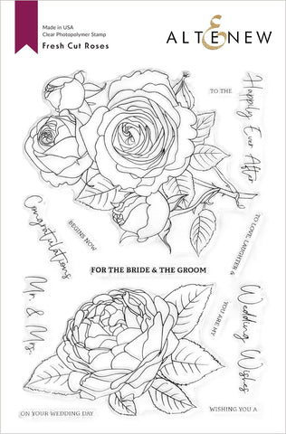 ALTENEW: Fresh Cut Roses | Stamp
