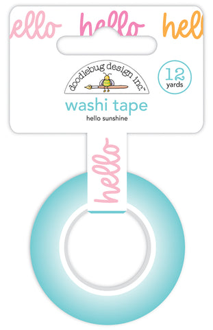 DOODLEBUG DESIGN: Washi Tape 15mm | Hello Sunshine