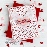 HONEY BEE STAMPS: Fluttering Hearts Cover Plate | Honey Cuts