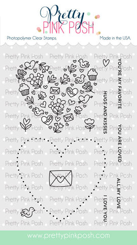 PRETTY PINK POSH:  All My Love | Stamp