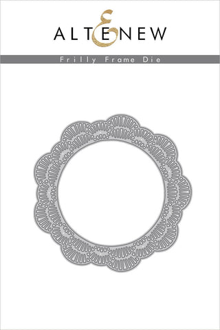 ALTENEW: Frilly Frames Die