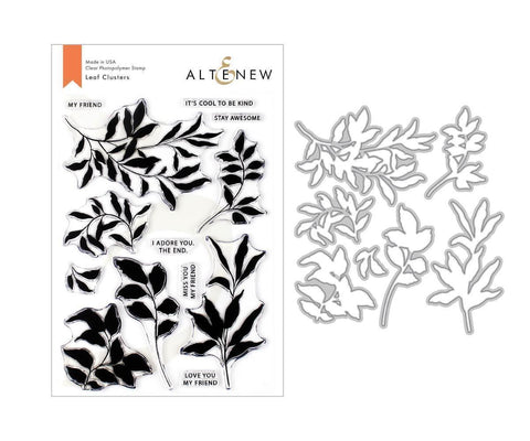 ALTENEW: Leaf Clusters Stamp and Die Set