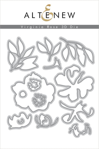 ALTENEW: Virginia Rose 3D Die