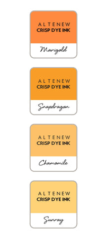 ALTENEW: Mini Dye Ink Cubes 4/pk (Golden Sunset)