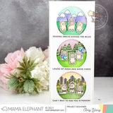 MAMA ELEPHANT: Easy Sentiments | Stamp