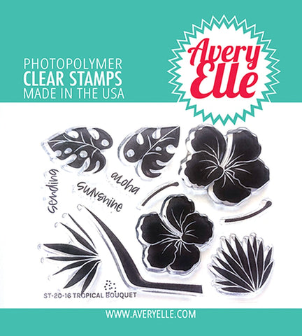 AVERY ELLE: Tropical Bouquet | Stamp