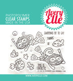 AVERY ELLE: Monkey Sea Monkey Do | Stamp
