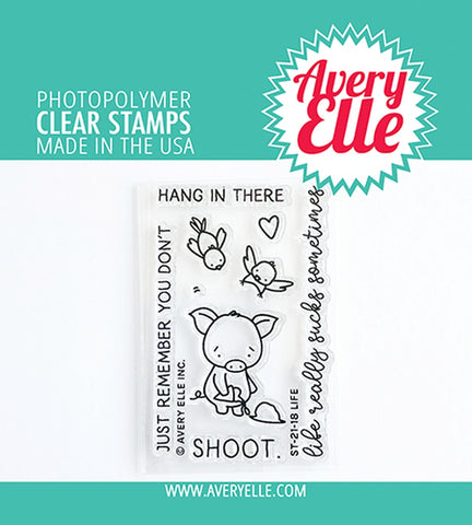AVERY ELLE: Life | Stamp