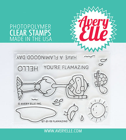 AVERY ELLE: Flamazing | Stamp