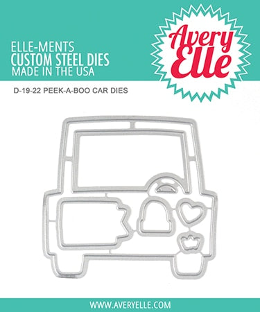 AVERY ELLE: Peek-a-Boo Car Elle-ments Die