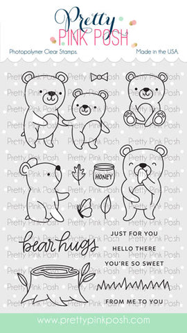 PRETTY PINK POSH:  Bear Friends