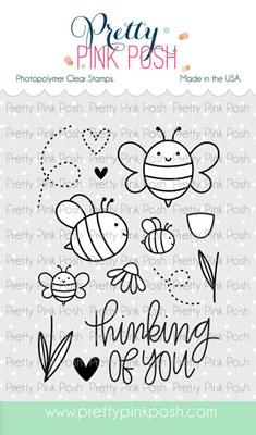 PRETTY PINK POSH:  Bee Friends | Stamp