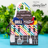 HONEY BEE STAMPS: Apron: BBQ Add-on | Honey Cuts