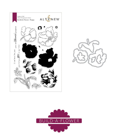 ALTENEW: Build-A-Flower: Poppy