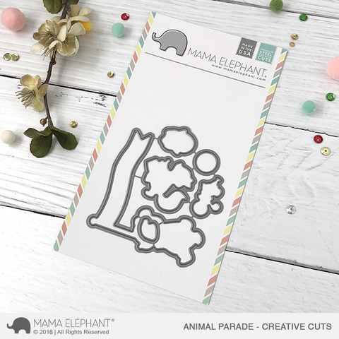 MAMA ELEPHANT: Animal Parade Creative Cuts