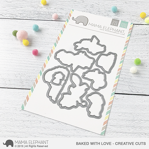 MAMA ELEPHANT: Baked with Love Creative Cuts