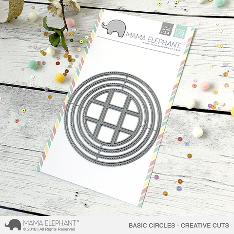 MAMA ELEPHANT: Basic Circles Creative Cuts