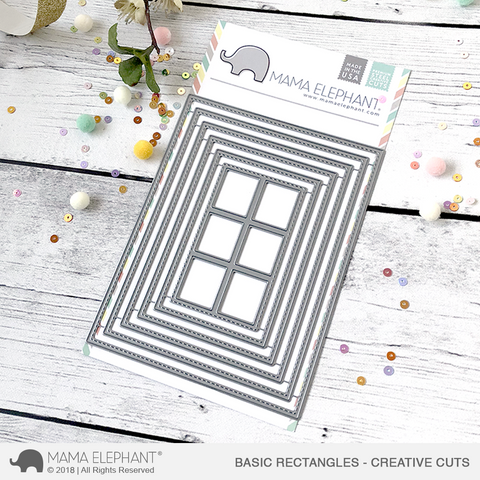 MAMA ELEPHANT: Basic Rectangles Creative Cuts