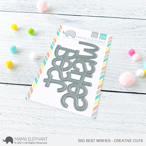 MAMA ELEPHANT: Big Best Wishes | Creative Cuts