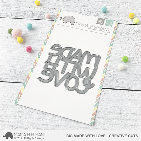 MAMA ELEPHANT: Big Made with Love Creative Cuts