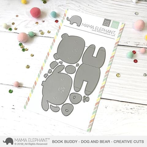 MAMA ELEPHANT: Book Buddy Bear and Dog Creative Cuts