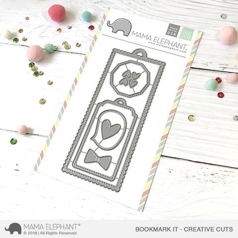 MAMA ELEPHANT: Bookmark It Creative Cuts