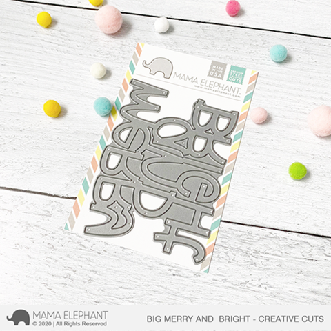 MAMA ELEPHANT: Big Merry and Bright | Creative Cuts