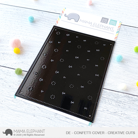 MAMA ELEPHANT: Confetti Cover |  Deep Etch Creative Cuts