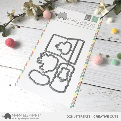 MAMA ELEPHANT: Donut Treats Creative Cuts