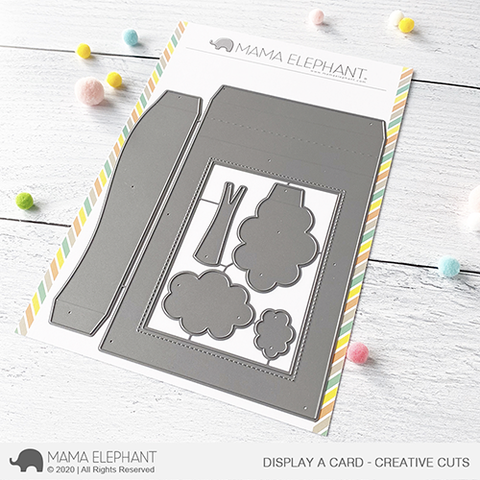 MAMA ELEPHANT: Display a Card | Creative Cuts