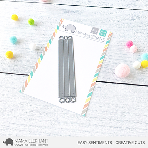 MAMA ELEPHANT: Easy Sentiments | Creative Cuts