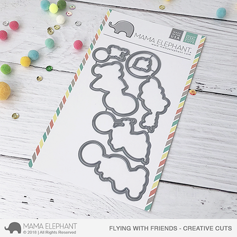 MAMA ELEPHANT: Flying With Friends Creative Cuts