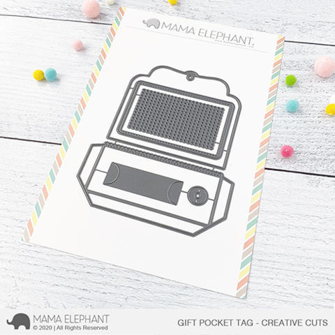 MAMA ELEPHANT: Gift Pocket Tag | Creative Cuts