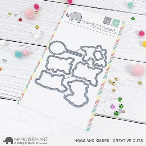 MAMA ELEPHANT: Hogs and Kisses Creative Cuts