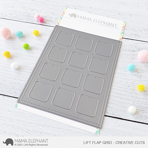 MAMA ELEPHANT: Lift Flap Grid | Creative Cuts