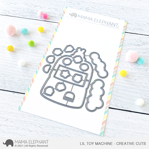 MAMA ELEPHANT: Lil Toy Machine | Creative Cuts