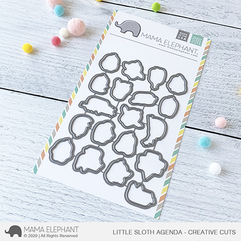 MAMA ELEPHANT: Little Sloth Agenda | Creative Cuts