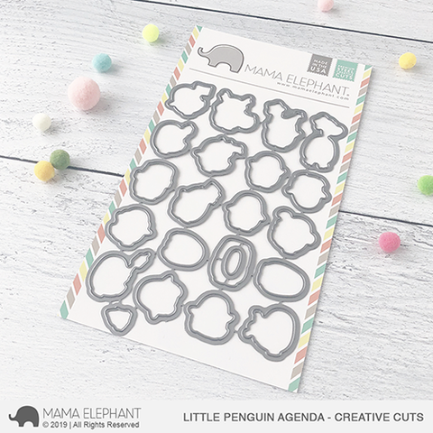 MAMA ELEPHANT: Little Penguin Agenda Creative Cuts