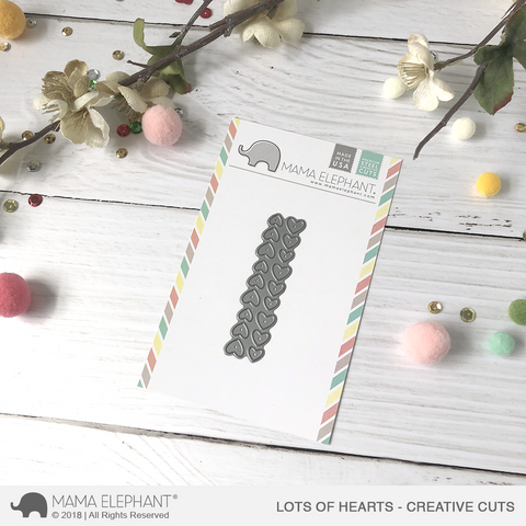 MAMA ELEPHANT: Lots of Hearts Creative Cuts