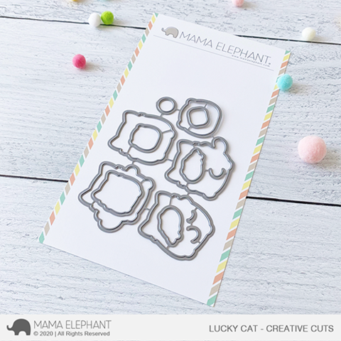 MAMA ELEPHANT: Lucky Cat | Creative Cuts